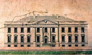 Jame Hoban's Original White House Drawing