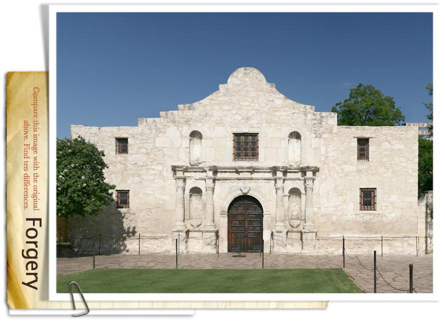 The Alamo Forgery