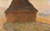 Grainstacks in Sunshine 1891. Oil on canvas, 60 cm x 100 cm. Kunshaus Zurich, Zurich, Switzerland.