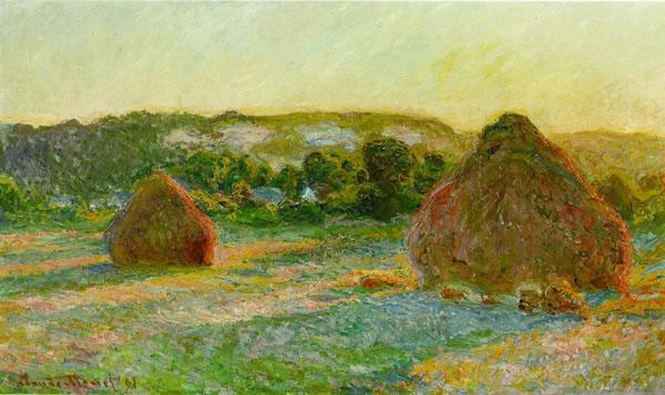A Claude Monet Haystack
