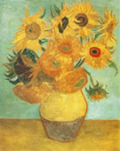 Sunflowers repetition of the 3rd version, Oil on canvas, 92 × 72.5cm, Philadelphia Museum of Art, Philadelphia, United States.