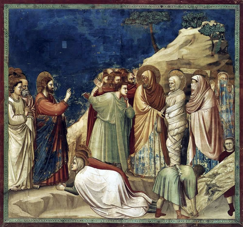 Raising of Lazarus - Giotto