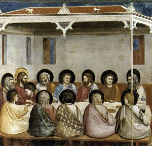 Giotto, The Life of Christ: The Last Supper