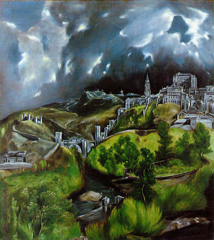 View of ToledoEl Greco (1541–1614)1596 - 1600oil on cavas121.3 × 108.6 cm (47.8 × 42.8 in)