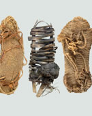 Ancient Puebloan Cultures, Anasazi Sandals, 400-1200, Woven Yucca Fibers