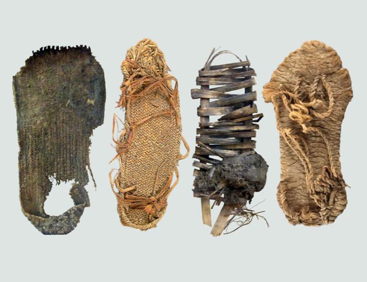 Ancient Puebloan CulturesAnasazi Sandals400-1200Woven Yucca Fibers