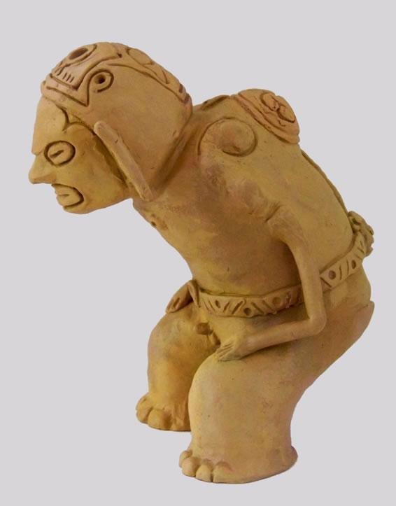 Taino CultureZemi of Deminan Caracaracol1200-1492Originals made of clay