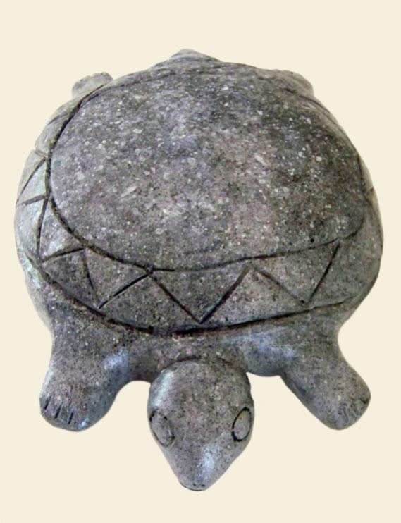 Taino CultureTaino Turtle1200-1492Originals made of dioriteThis statue is a reproduction
