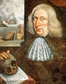 Captain Thomas Smith, Self-Portrait, 1690, Oil on canvas, 24.4 x 23.6
