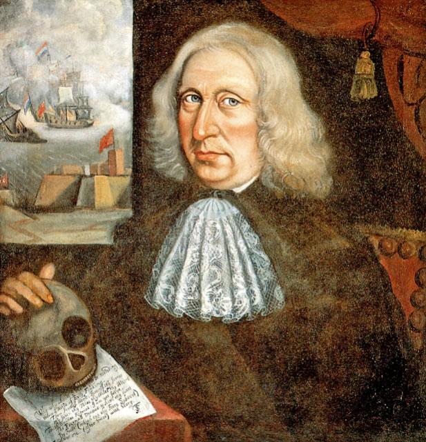 Captain Thomas SmithSelf-Portrait1690Oil on canvas24.4 x 23.6