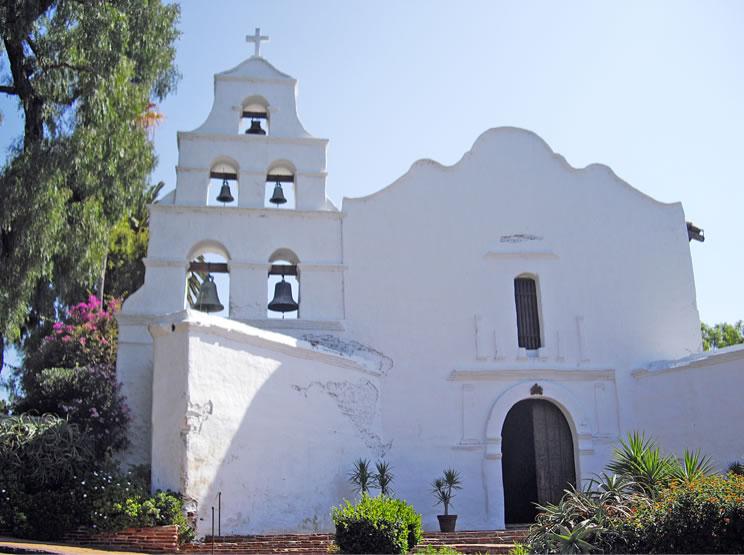 Mission San Diego de Alcalabegun 1774San Diego, California