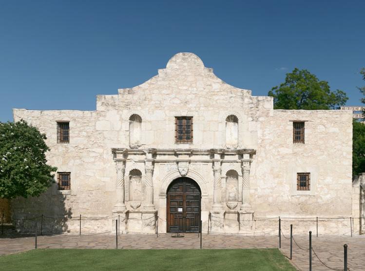 Mission San Antonio de Valero(The Alamo)begun 1758San Antonio, Texas