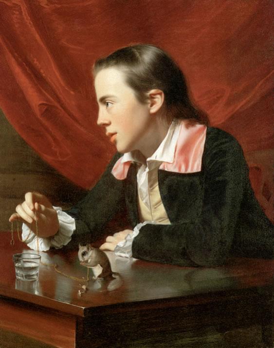 John Singleton Copley1738-1815Boy with a Flying Squirrel (Henry Pelham)1765Oil on canvas