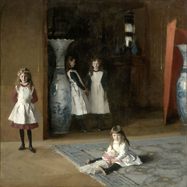 John Singer Sargent1856-1925The Daughters of Edward Darley Boit1882Oil on canvas87 3/8 x 87 5/8 in.
