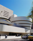 Frank Lloyd Wright, Solomon R. Guggenheim Museum, New York, 1943-59