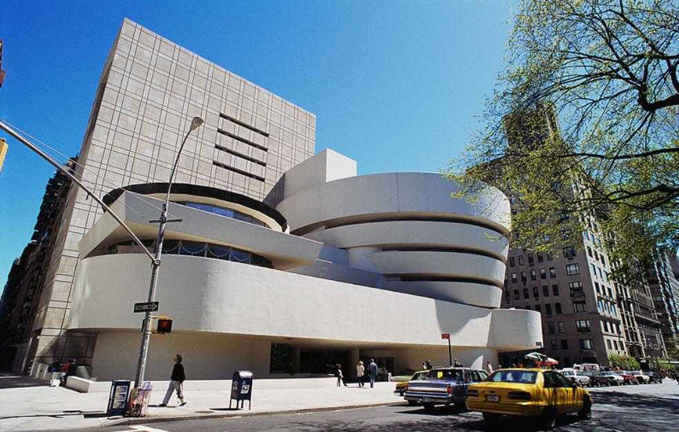Frank Lloyd WrightSolomon R. Guggenheim MuseumNew York1943-59