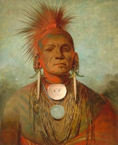 See-non-ty-a, an Iowa Medicine Man by George Catlin