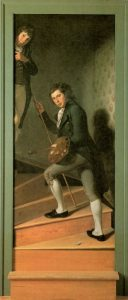 Staircase Group by Charles Willson Peale