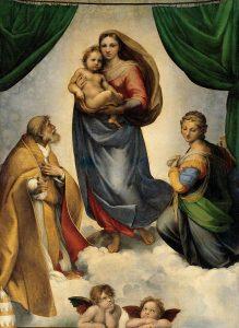Sistine Madonna by Raphael Sanzio