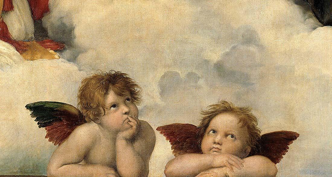 Sistine Madonna (detail) by Raphael Sanzio