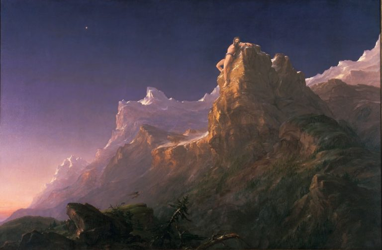 Prometheus Bound by Thomas Cole