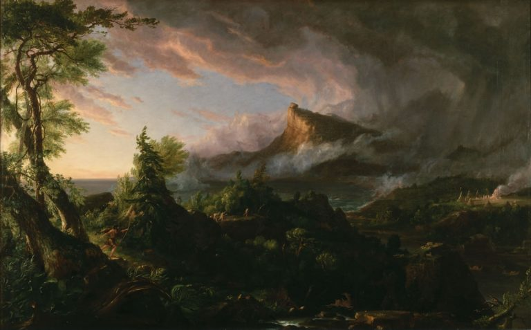 The Course of Empire: The Savage State by Thomas Cole