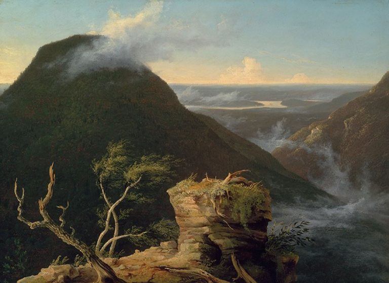 Sunny Morning on the Hudson by Thomas Cole