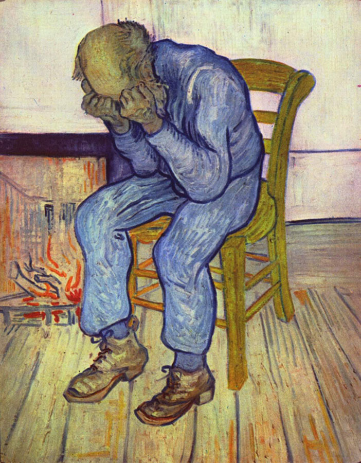 "Sorrowing Old Man (""At Eternity's Gate"") by Vincent van Gogh"