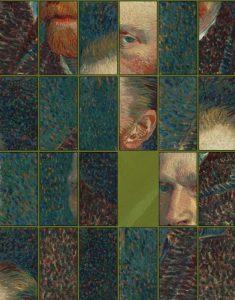 Vincent van Gogh Self-Portrait Puzzle